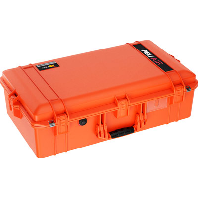pelican 1605 air cases orange case