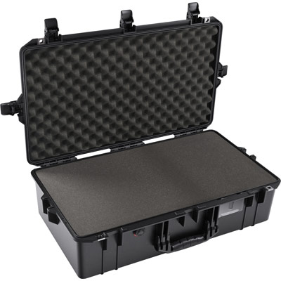 shop pelican air 1605 buy black foam camera case