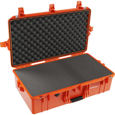 pelican 1605 air orange camera case
