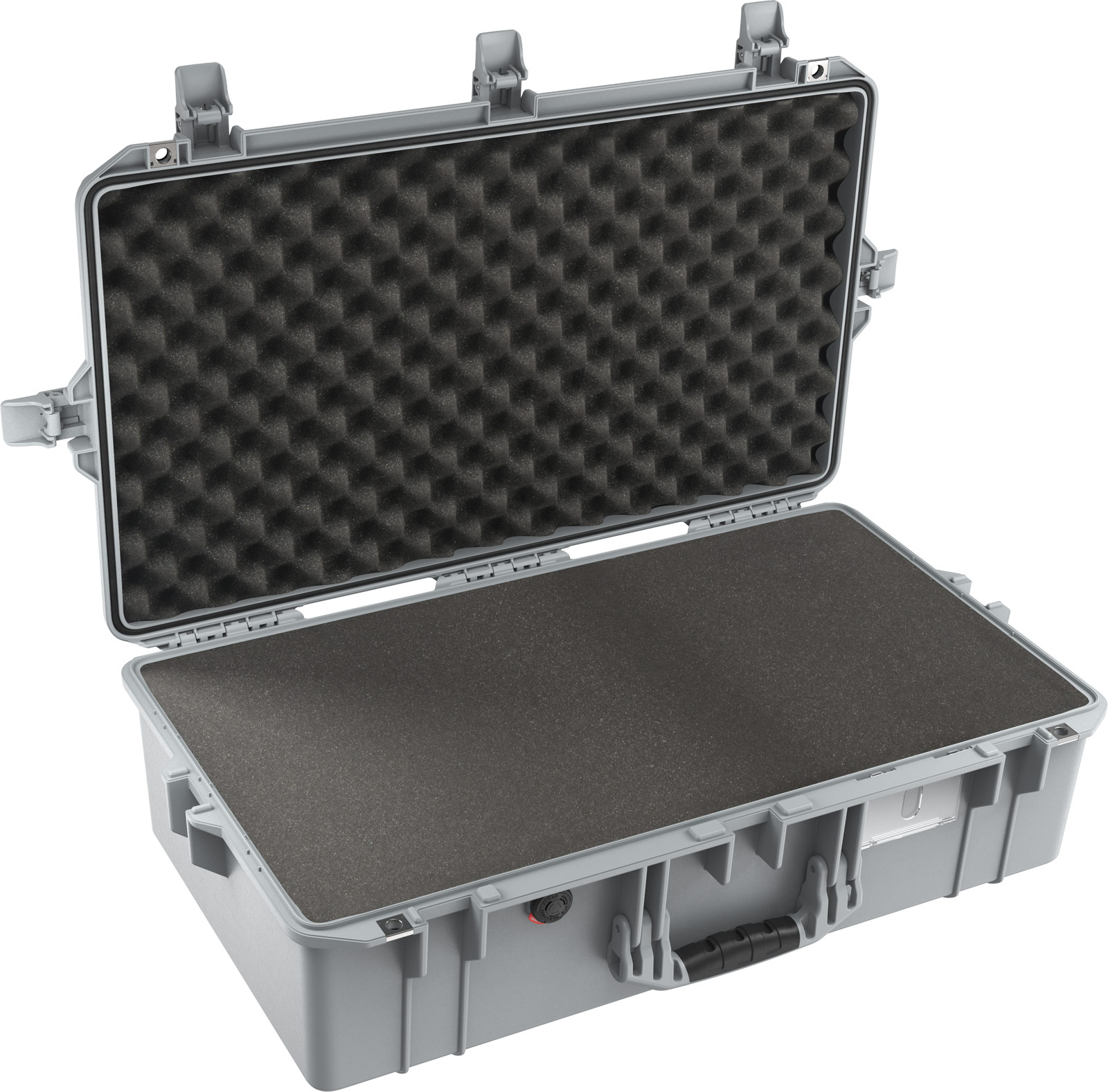 pelican 1605 air silver foam lightweight case