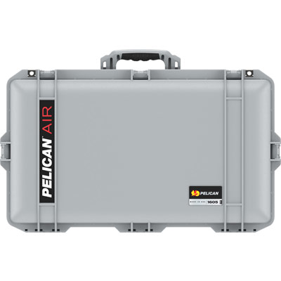pelican 1605 silver travel tsa case