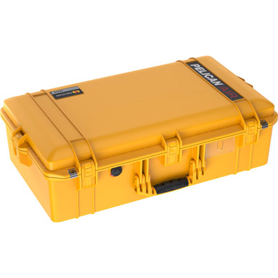 pelican yellow 1605 air case watertight cases