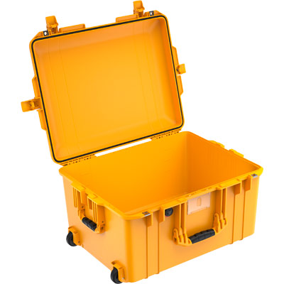 peli 1607 air deep yellow crushproof case