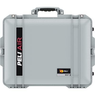 peli 1607 air silver tough hard case