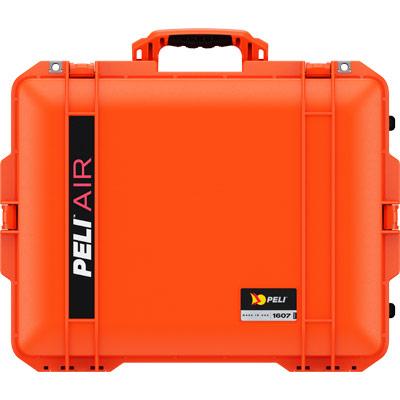 peli 1607 orange deep protective case
