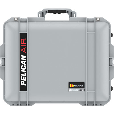 pelcian 1607 air silver tough hard case