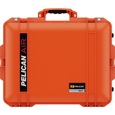 pelican 1607 orange deep protective case