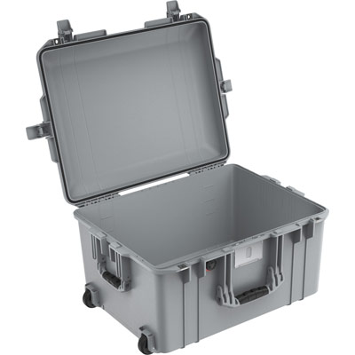 pelican 1607 silver no foam air case