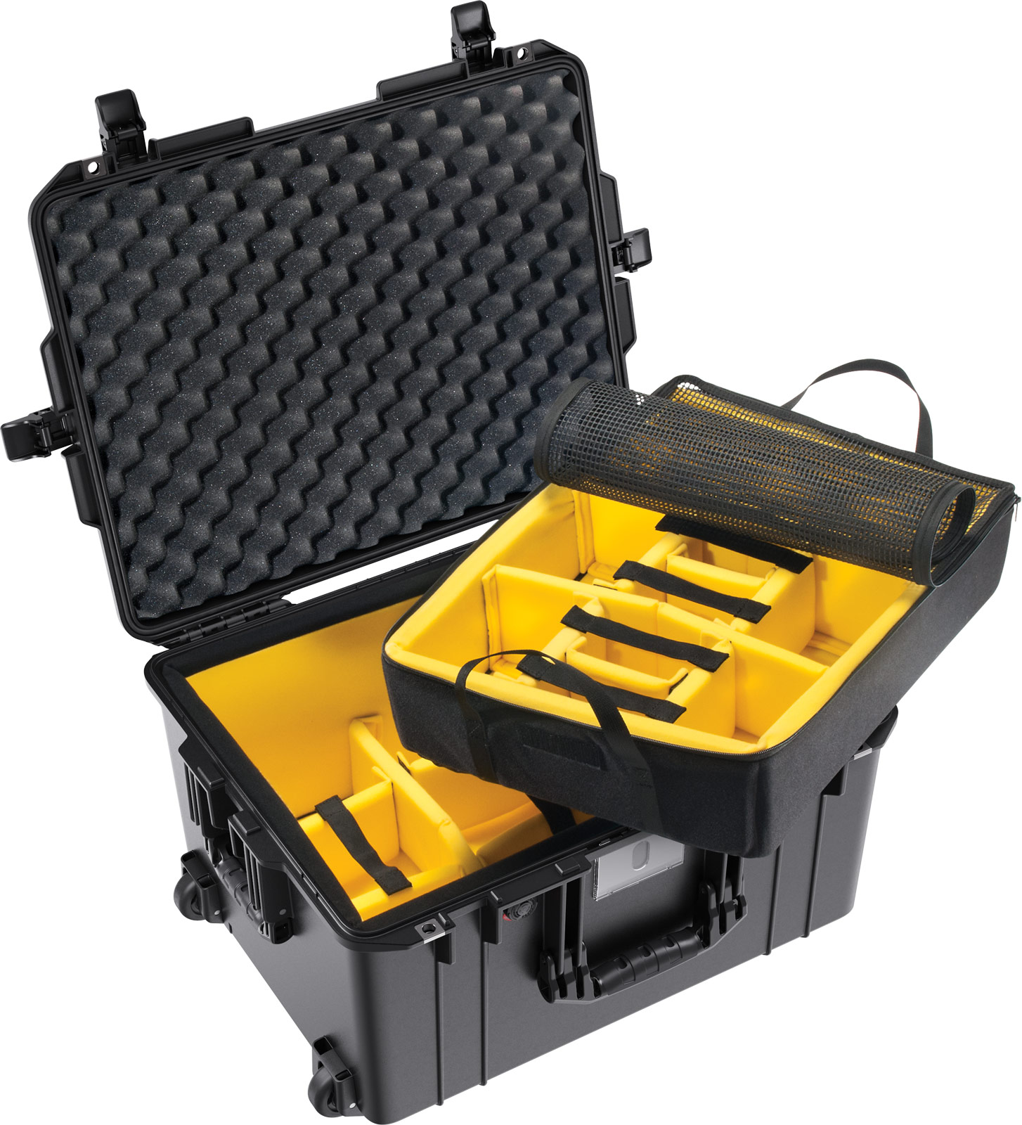 pelican 1607 1607wd air case padded dividers