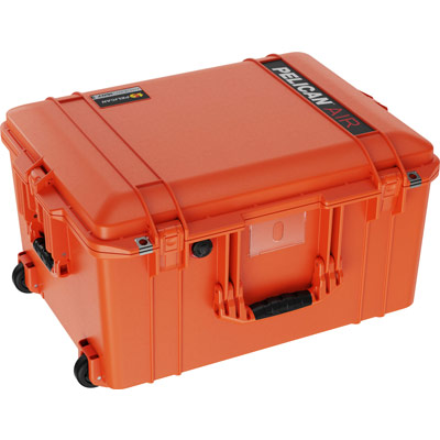 pelican 1607 air heavy duty deep orange case