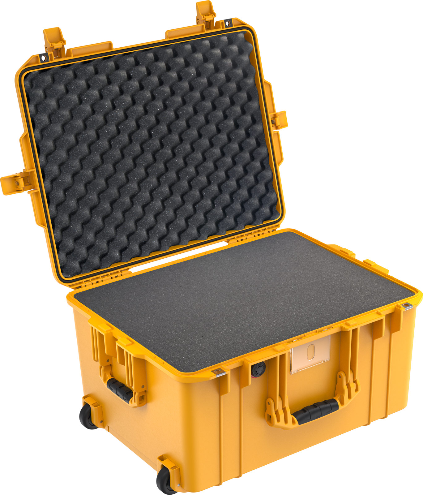 pelican 1607 deep drone case yellow