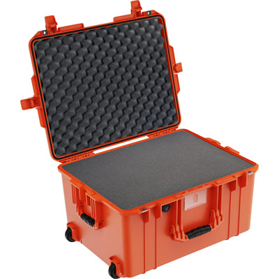 pelican deep watertight case orange