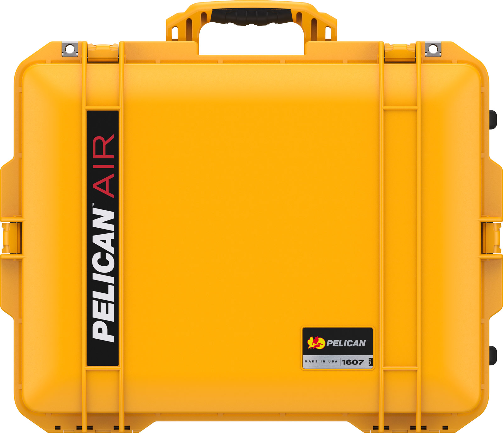 pelican yellow 1607 air crushproof case