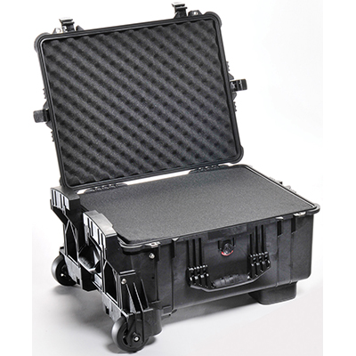 pelican hard protection rolling outdoor case