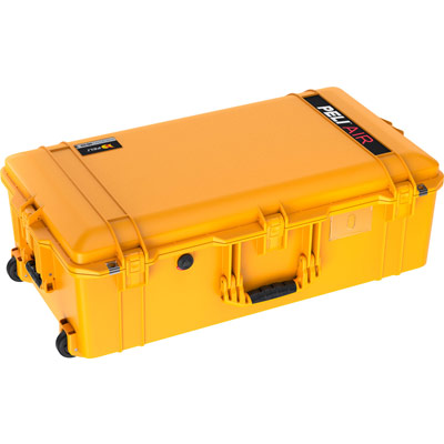 pelican 1615 air case yellow camera cases