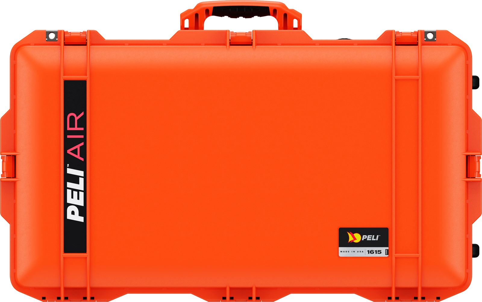 peli 1615 airline orange travel case