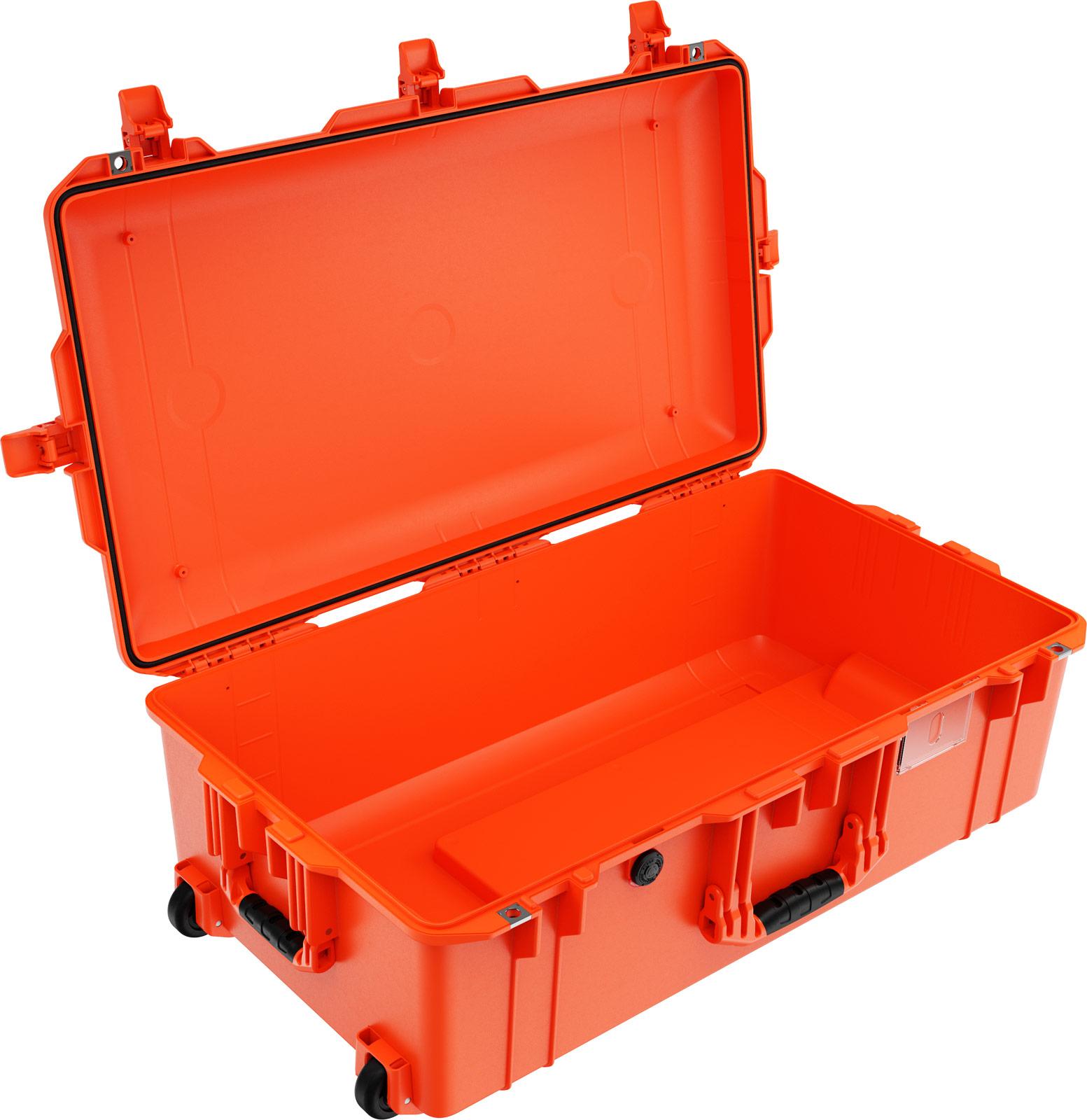 peli 1615 orange travel rolling case