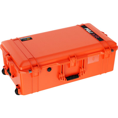 pelican 1615 orange air case rolling travel cases