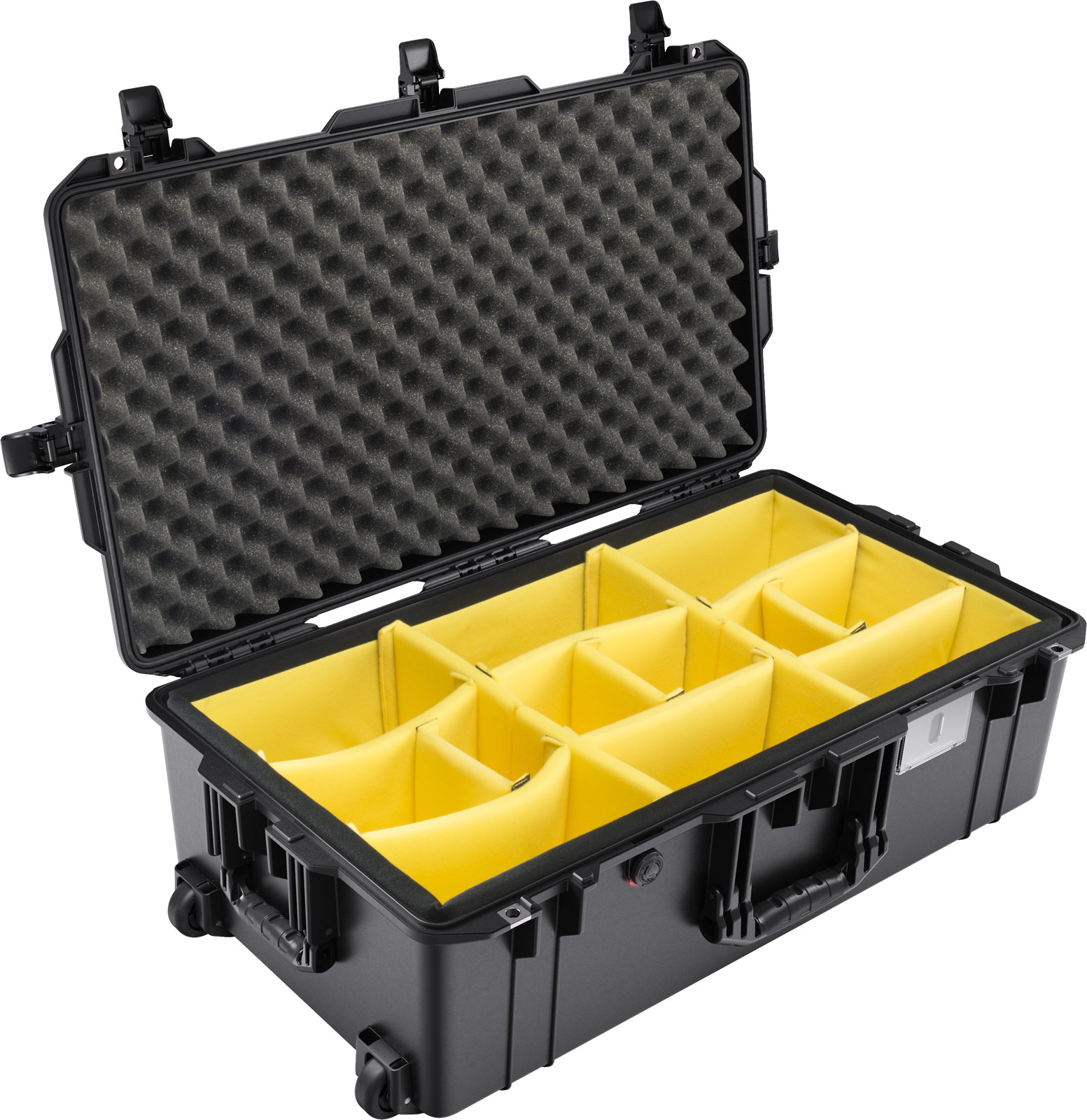 buy pelican air 1615 shop padded dividers travel case