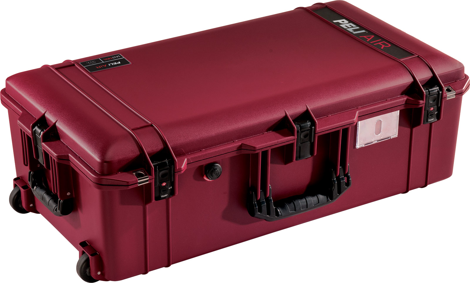 peli oxblood air travel case