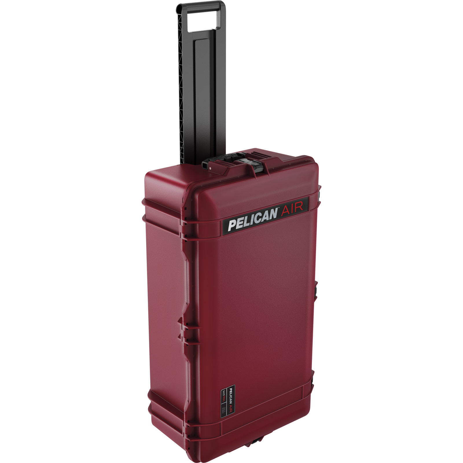pelican 1615 air travel tsa oxblood case