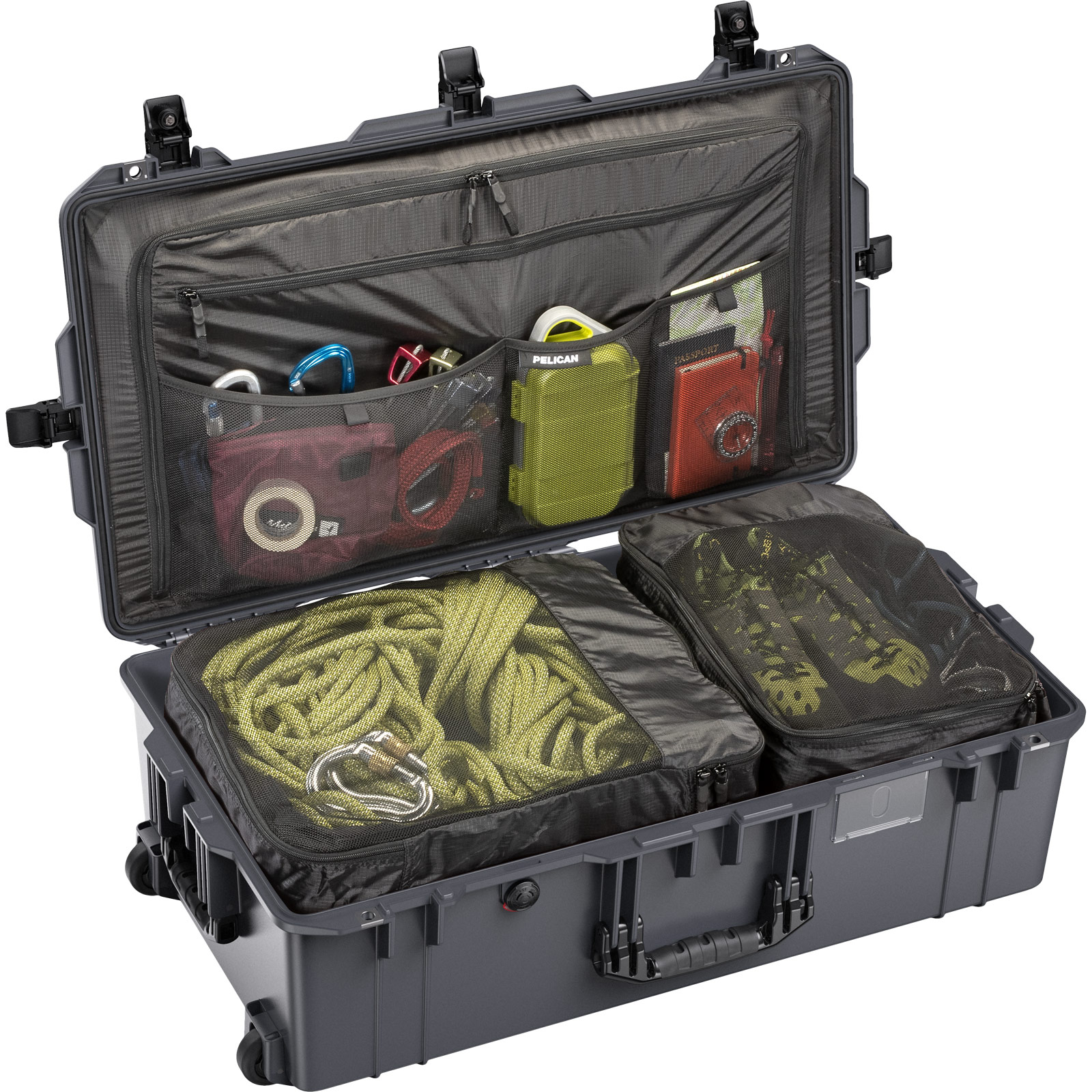 pelican 1615 charcoal light travel case