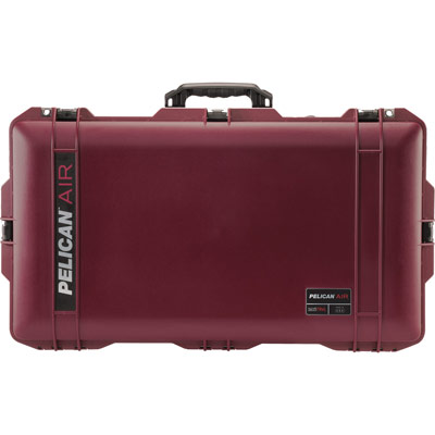 pelican 1615 travel air oxblood mesh organization case