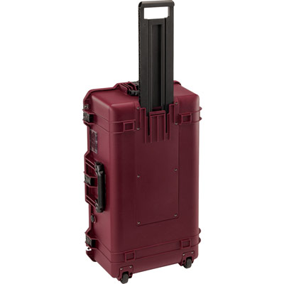 pelican oxblood check in travel case