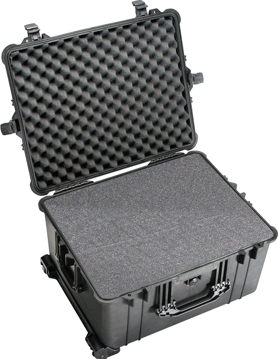 pelican 1620 black foam ammunition case