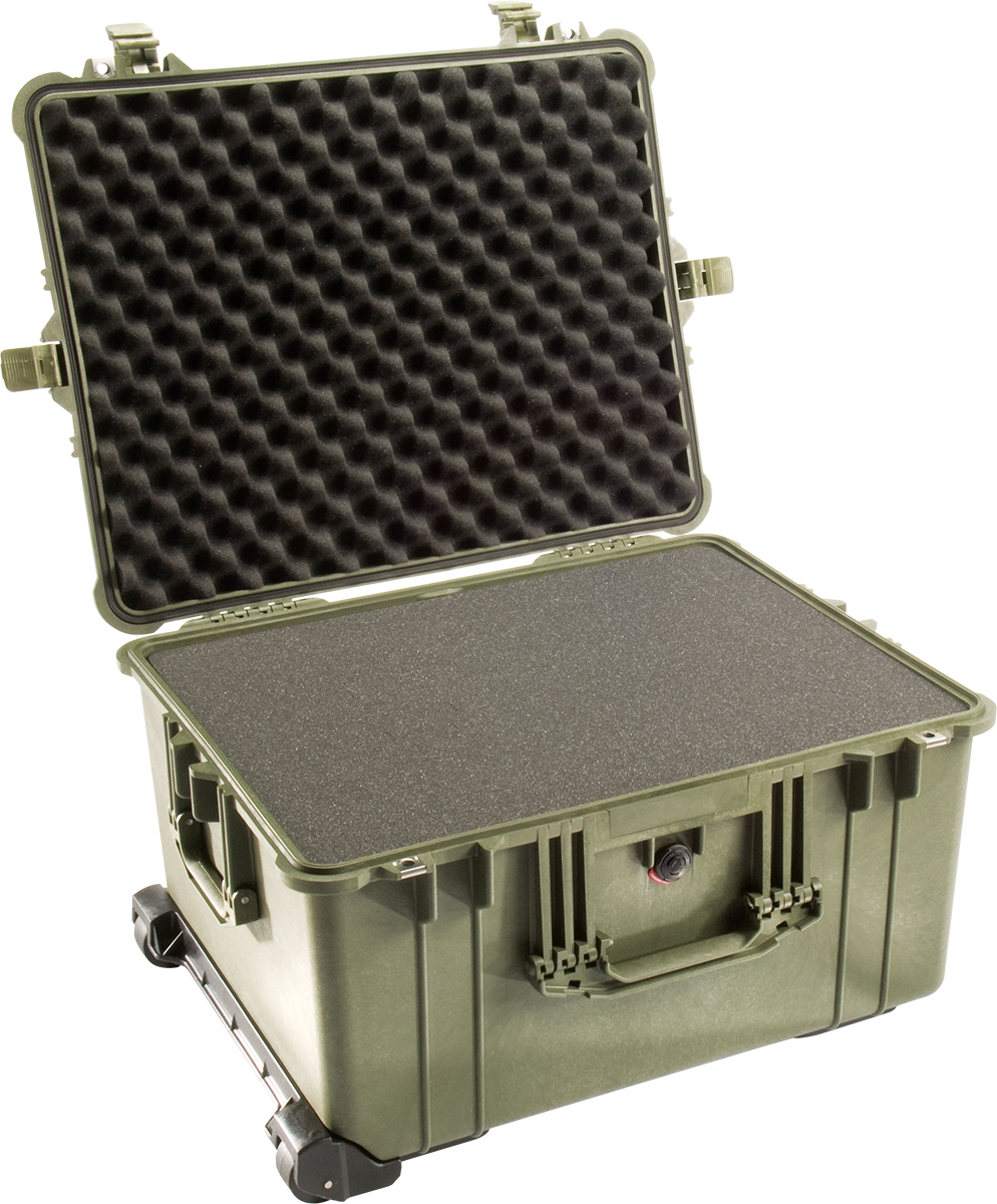 pelican 1620 green foam crushproof case