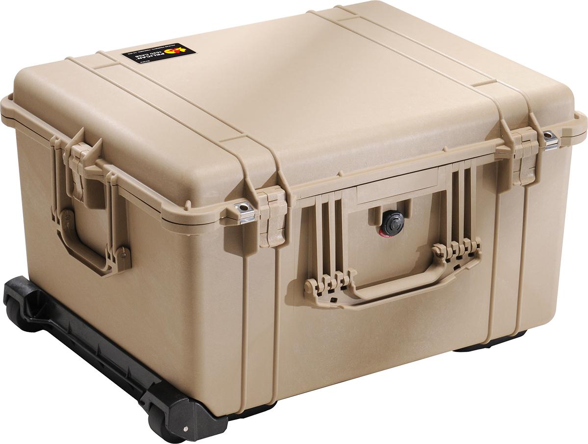 pelican 1620 tan watertight case