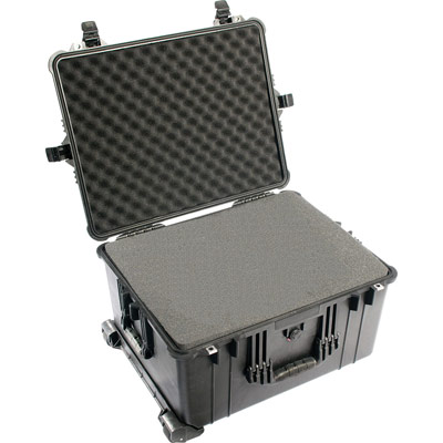 pelican 1620 padded equipment rolling case