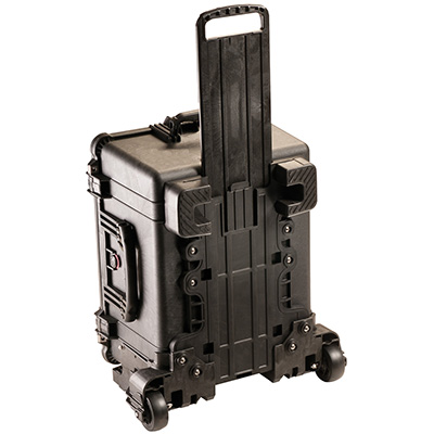 pelican hard rolling travel watertight case