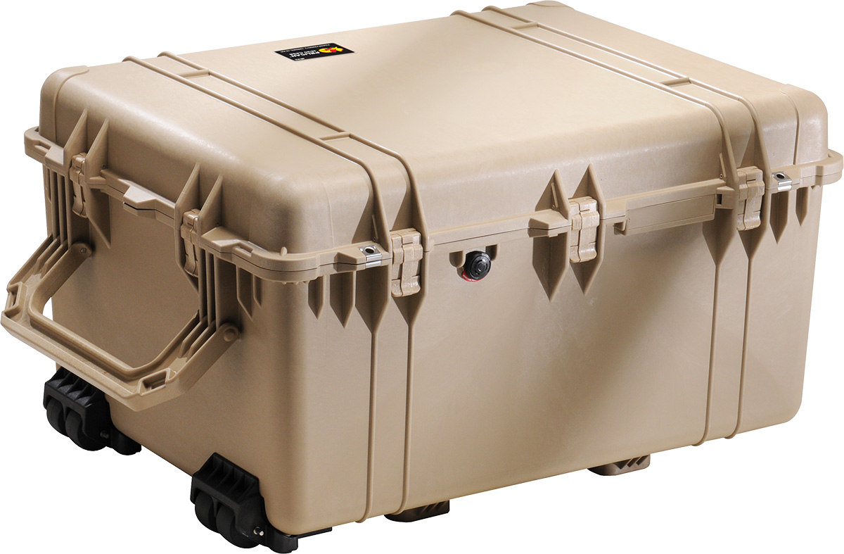 pelican 1630 desert tan large rugged case