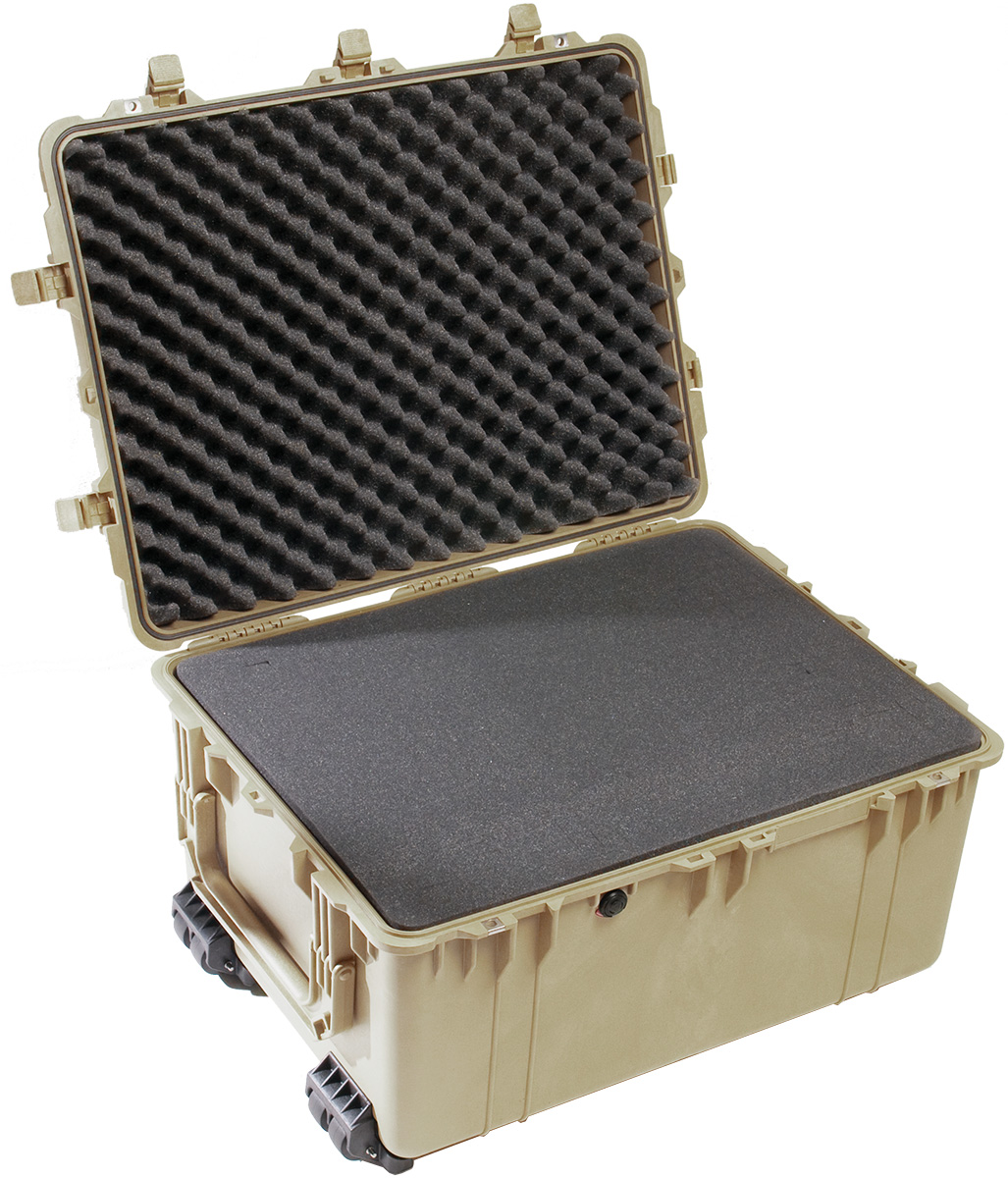 pelican 1630 desert water tight rolling case