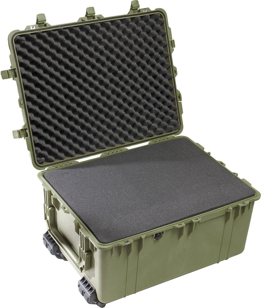 pelican 1630 green tactical hard shell case
