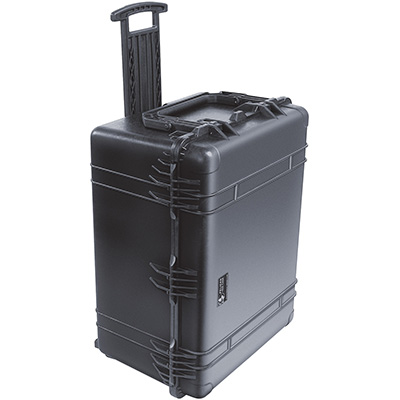 pelican strongest watertight rolling weapon case