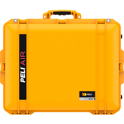peli 1637 yellow air watertight audio case