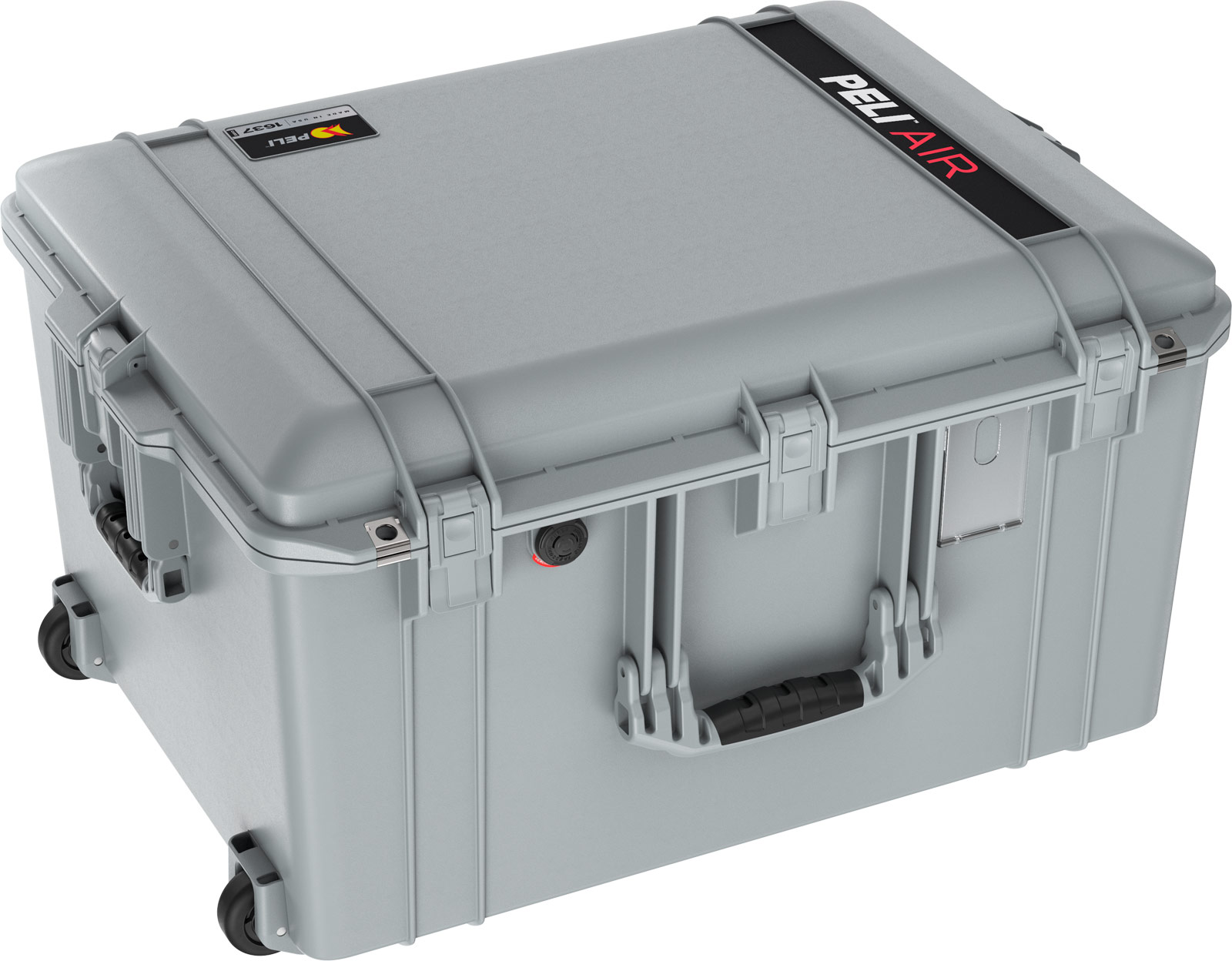 pelican 1637 air travel rolling large case grey