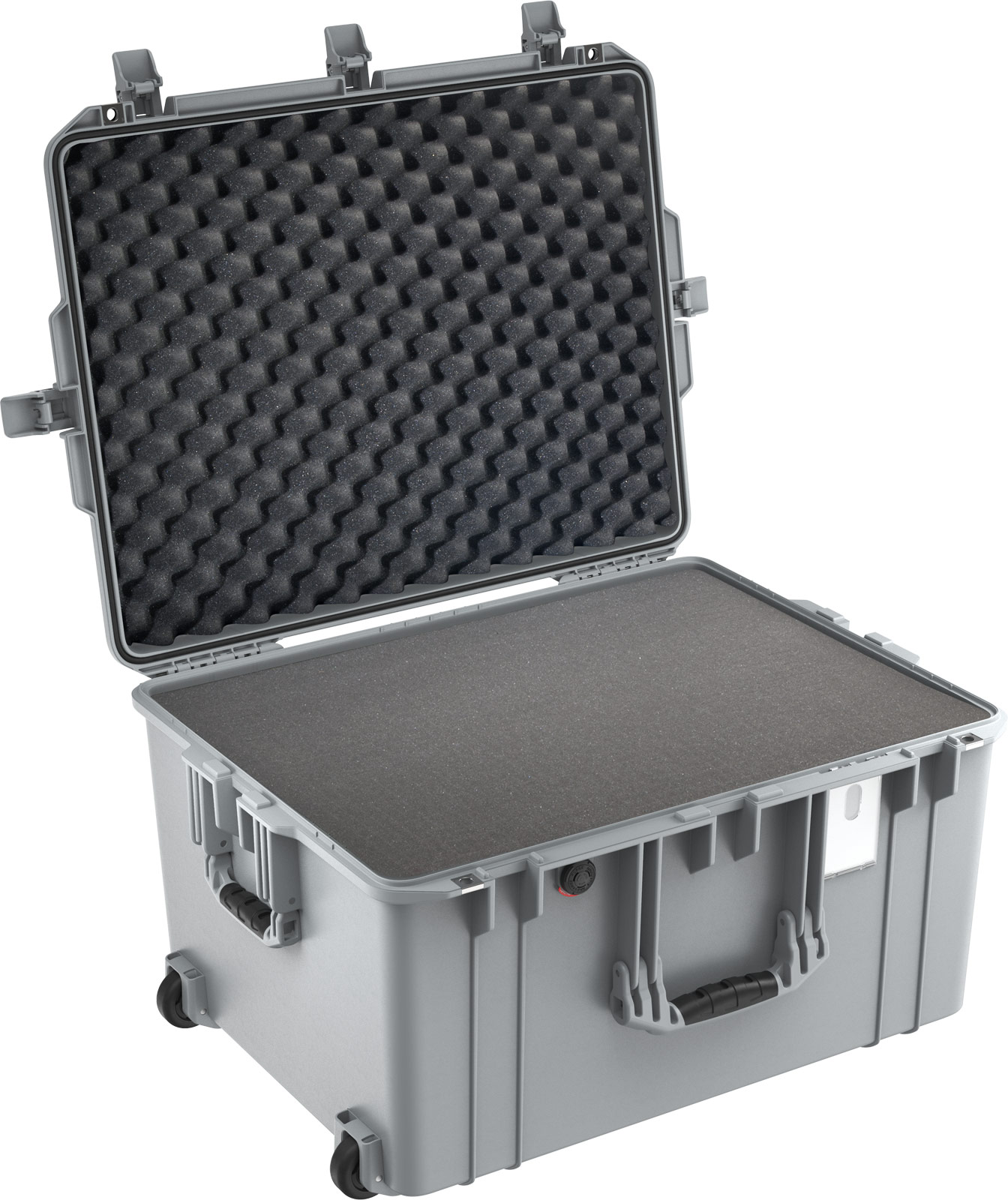 pelican 1637 air silver roller travel case