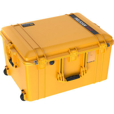 pelican 1637 case yellow air cases