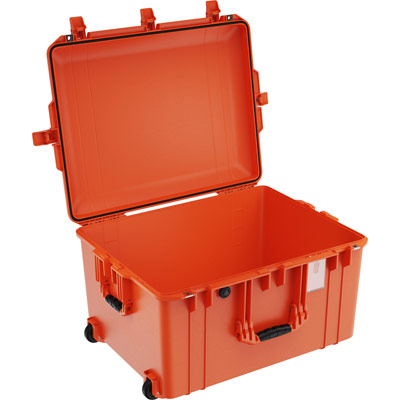pelican 1637 orange no foam airline case