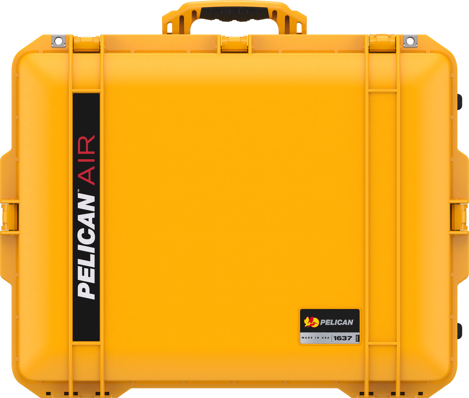 pelican 1637 yellow air watertight audio case
