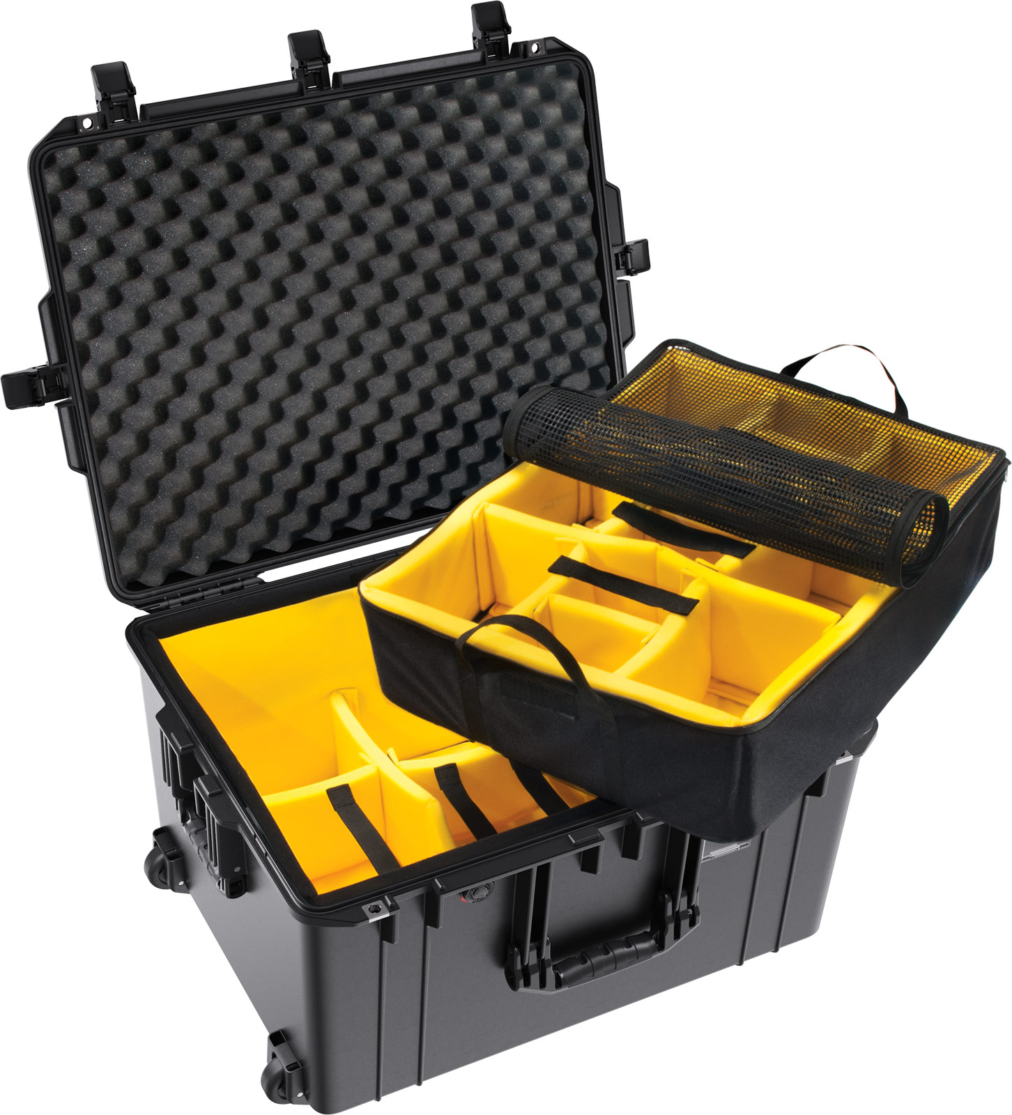 pelican 1637wd padded dividers air case