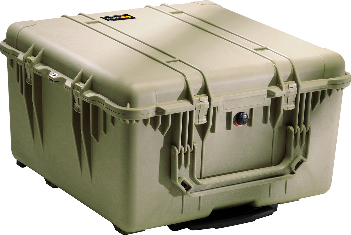 pelican 1640 military rolling transport tactical case