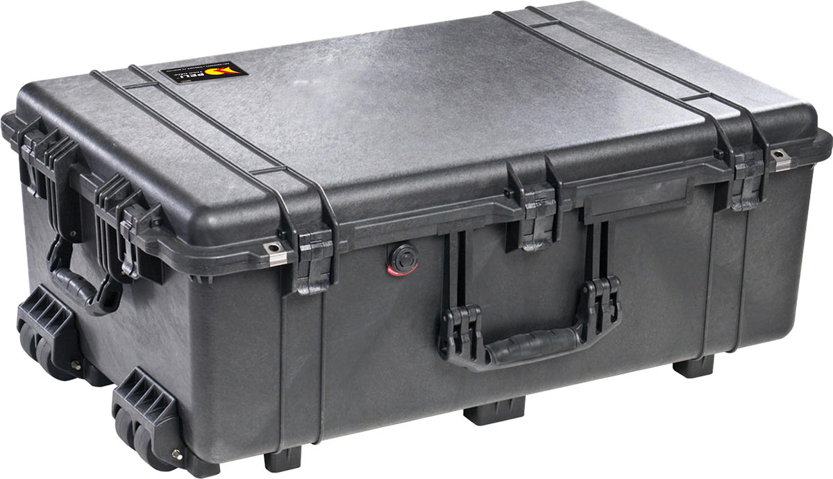 pelican 1650 mobile wheeled pelicase rolling case