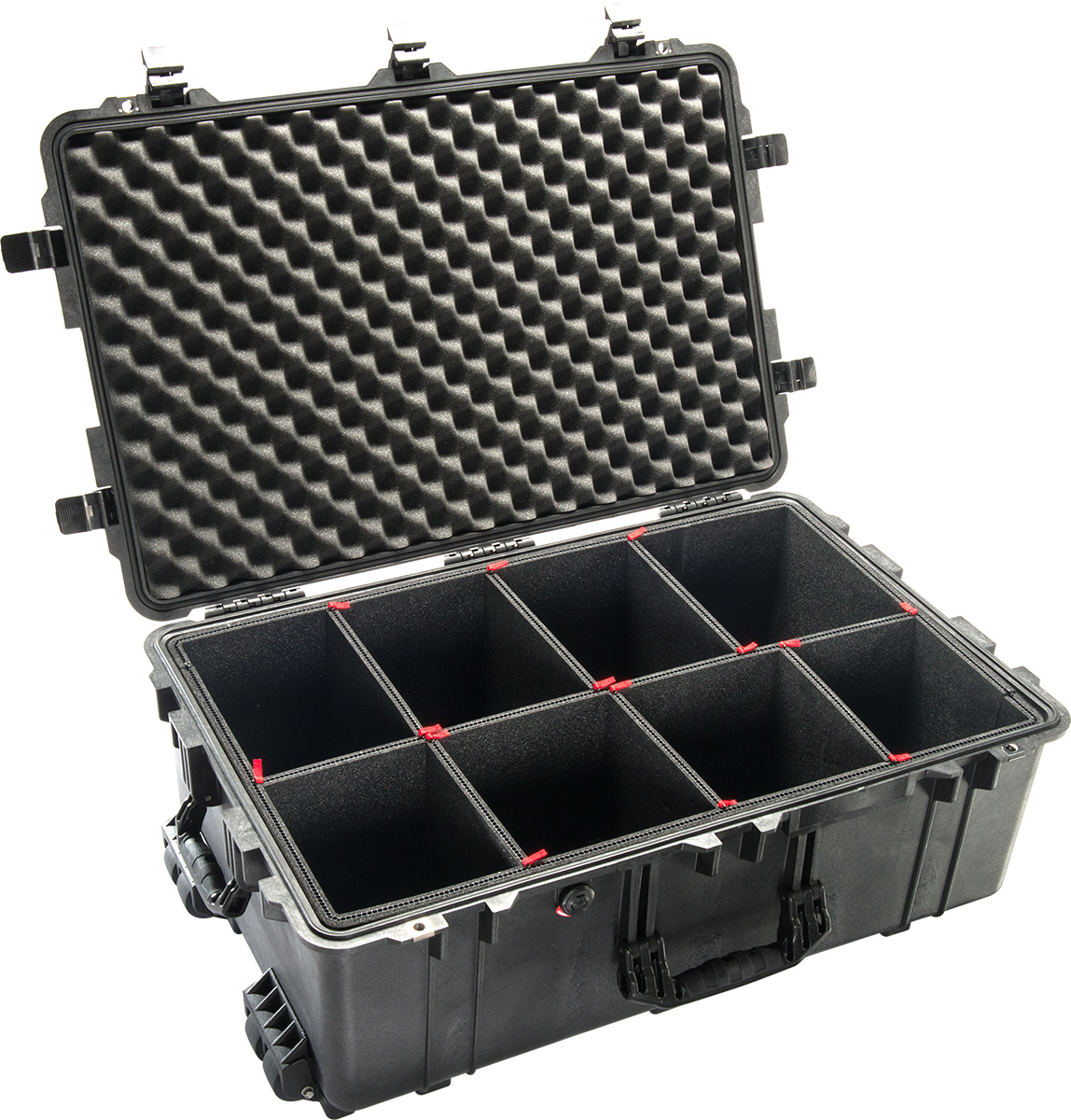 pelican 1650 1650tp trek pak case padded dividers