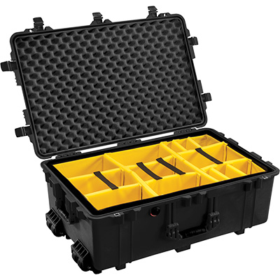 pelican 1650 watertight padded equipment case