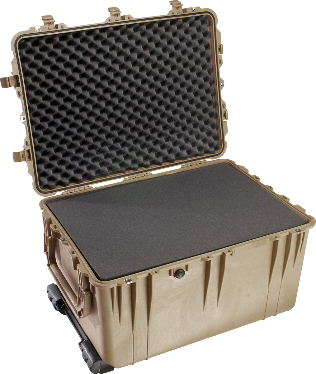 pelican 1660 foam military transport case