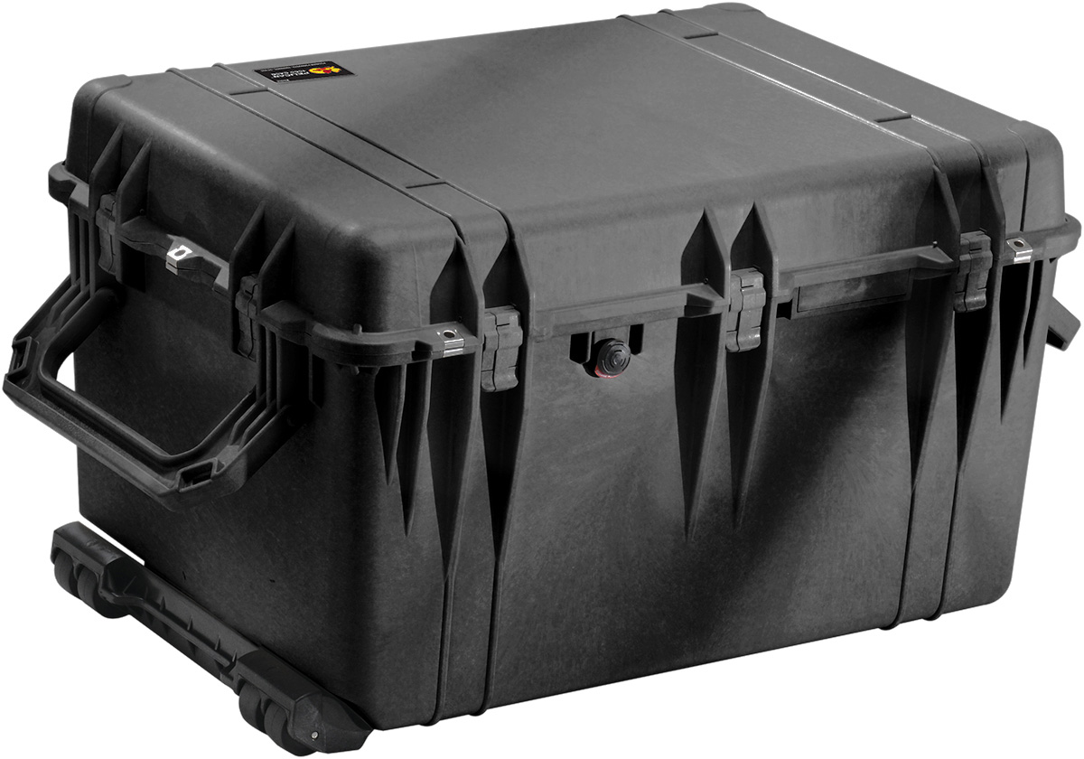 pelican rolling transport hard case box